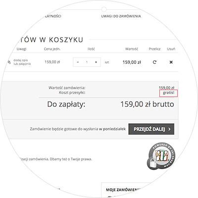 Darmowa dostawa w 4kom.pl za kilka produktów w koszyku