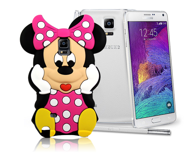 Etui 3D Minnie Samsung Galaxy Note 4