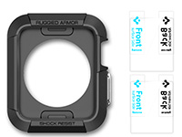 Oryginalne Etui Spigen Rugged Armor do Apple Watch 42mm