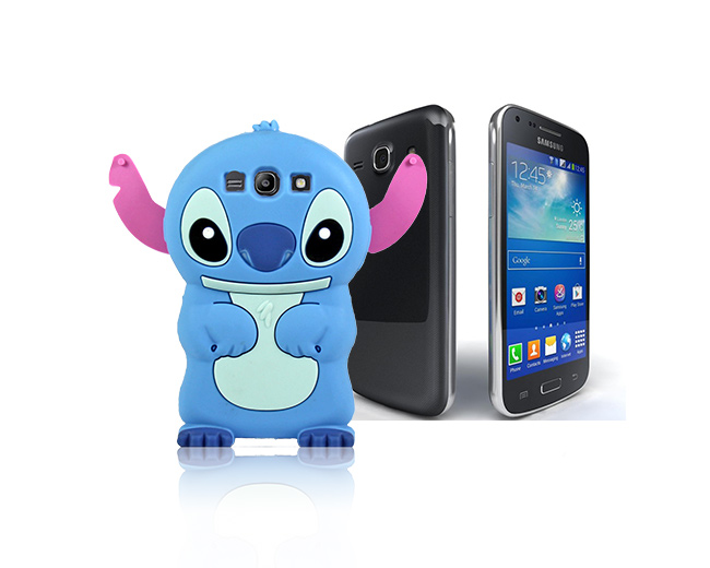 Etui silikonowe 3D Stitch Samsung Galaxy Core Plus
