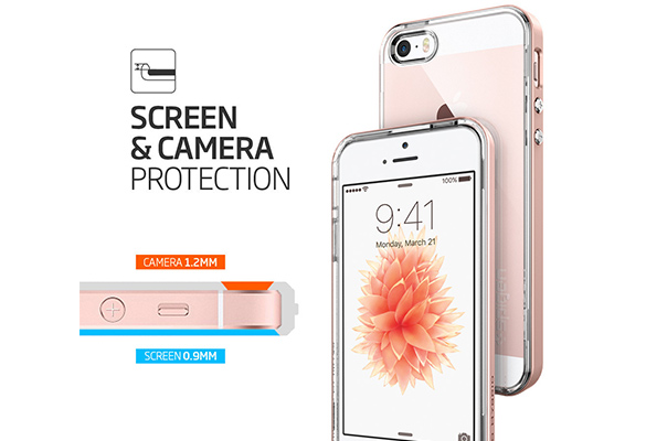 Spigen NEO HYBRID Crystal iPhone SE/5S/5