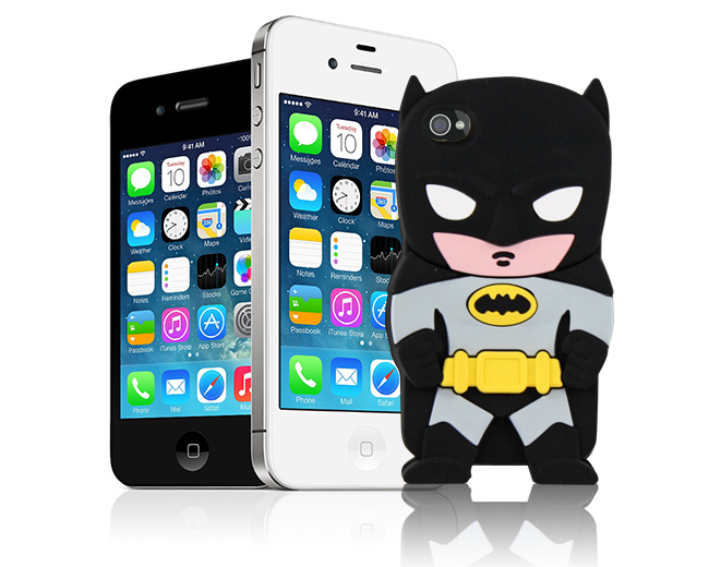 Etui 3D Batman iPhone 4 4S