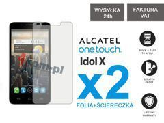 2x Folia ochronna na ekran do Alcatel One Touch Idol 6030D