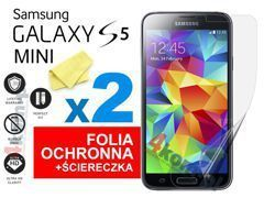 2x Folia ochronna na ekran do Samsung Galaxy S5 mini