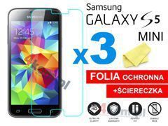 3x Folia ochronna na ekran do Samsung Galaxy S5 mini