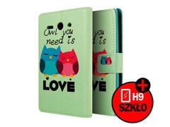 Etui ochronne dla Huawei Ascend Y530 Owl you Need is Love + szkło