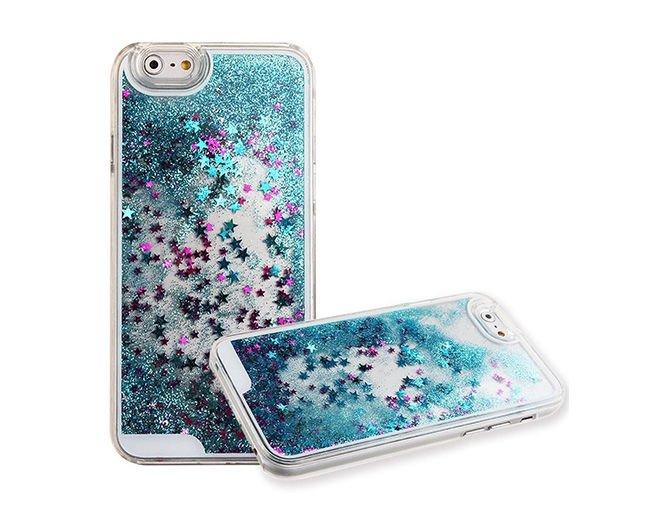 etui gwiazdki liquid stars do apple iphone 5 5s niebieskie. Black Bedroom Furniture Sets. Home Design Ideas