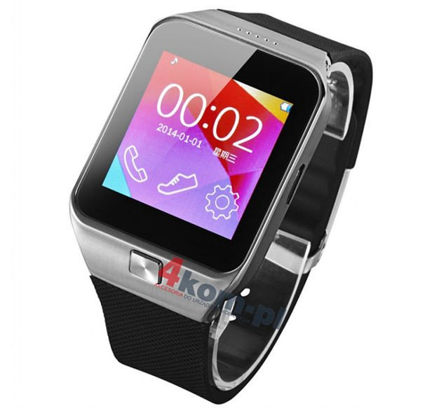 smartwatch m6 zegarek android ios bluetooth wej cie na kart sim. Black Bedroom Furniture Sets. Home Design Ideas