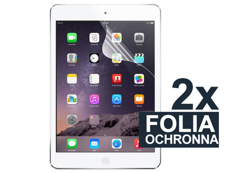 2x Folia ochronna na ekran do iPad Air i Air 2