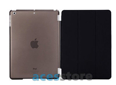 6w1- Przezroczyste Back Cover + Smart Cover + 2x folia + rysik + ściereczka do iPad Air