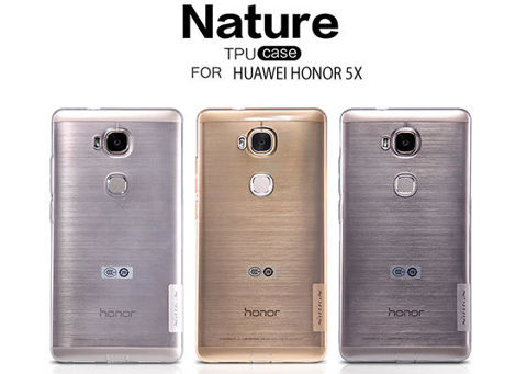 ETUI NILLKIN NATURE SILIKON 0.6MM  Huawei Honor 5X Gray