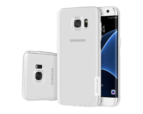 ETUI NILLKIN NATURE SILIKON 0.6MM SAMSUNG Galaxy S7 White