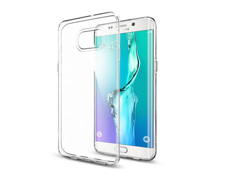 ETUI SGP SPIGEN Liquid Crystal do Samsung Galaxy S6 Edge +/plus Crystal Clear