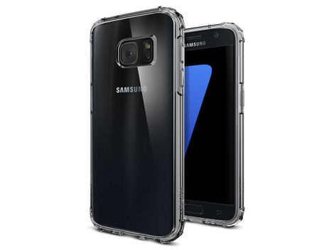 ETUI SPIGEN CRYSTAL SHELL SAMSUNG GALAXY S7 DARK CRYSTAL