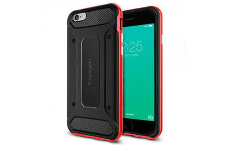 ETUI SPIGEN NEO HYBRID CARBON IPHONE 6/6S  DANTE RED