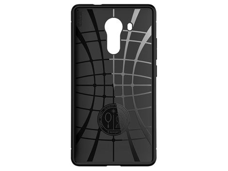 ETUI SPIGEN RUGGED ARMOR BLACK HUAWEI MATE 8
