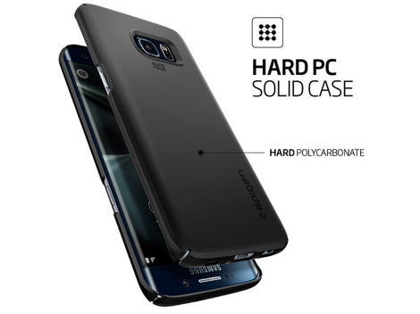 ETUI SPIGEN THIN FIT SAMSUNG GALAXY S7 EDGE GUNMETAL