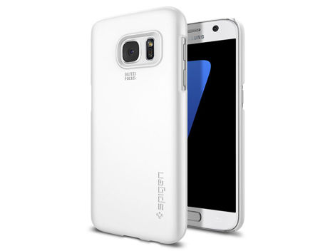 ETUI SPIGEN THIN FIT SAMSUNG GALAXY S7 SHIMMERY WHITE
