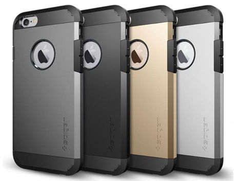 ETUI SPIGEN TOUGH ARMOR IPHONE 6S GUNMETAL