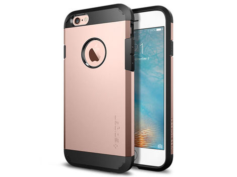 ETUI SPIGEN TOUGH ARMOR IPHONE SE/5S/5 ROSE GOLD