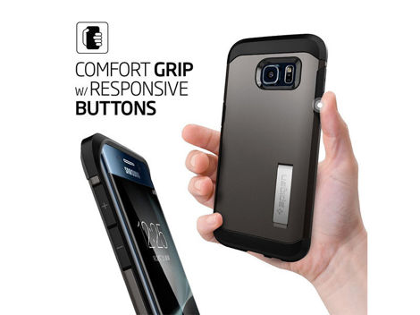 ETUI SPIGEN TOUGH ARMOR SAMSUNG GALAXY S7 EDGE BLACK