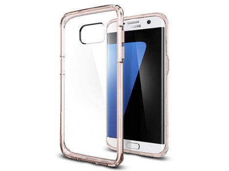 ETUI SPIGEN ULTRA HYBRID SAMSUNG GALAXY S7 EDGE ROSE CRYSTAL