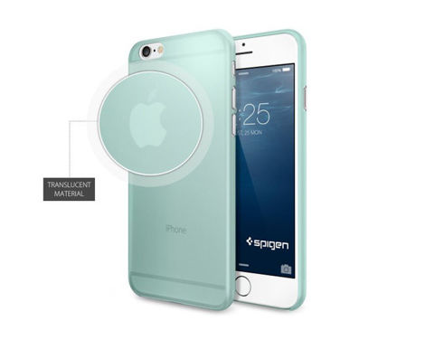 Etui Air Skin Spigen SGP do iPhone 6/6s Mint