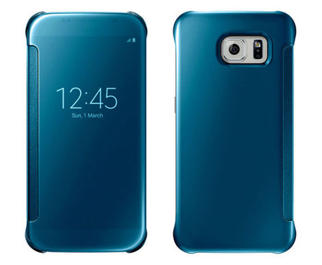 Etui CLEAR VIEW COVER SAMSUNG GALAXY S6