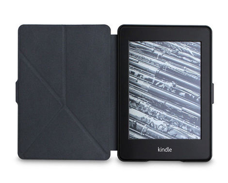 Etui Kindle 7 Touch 2014 origami na magnes czerwone