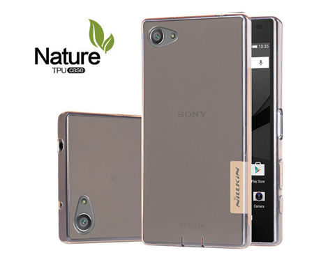 Etui Nillkin Nature Silikon 0.6mm Sony Xperia Z5 Brown