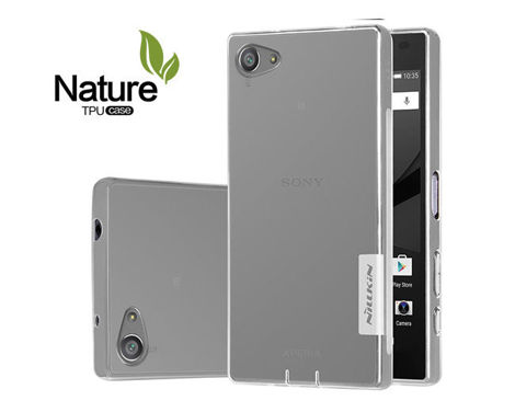 Etui Nillkin Nature Silikon 0.6mm Sony Xperia Z5 White