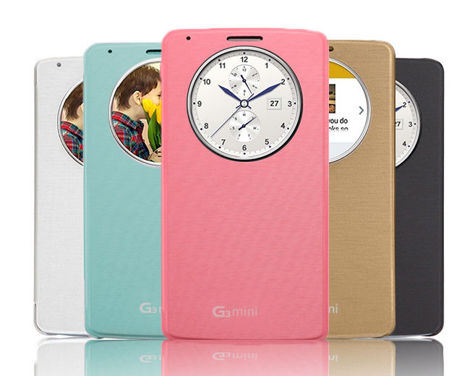 Etui Quick Circle LG G3s Beat Mini białe