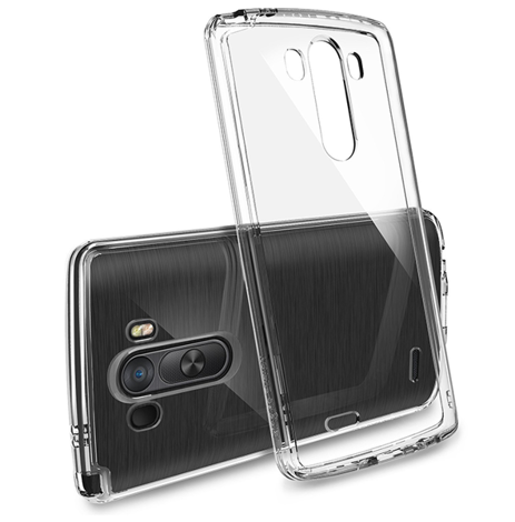 Etui Rearth Ringke Fusion LG G3 Crystal View