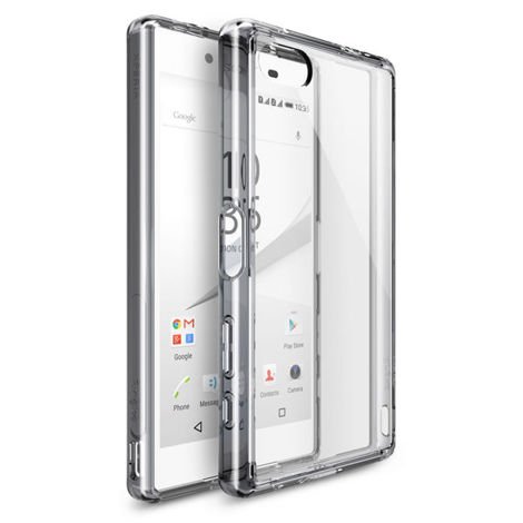 Etui Rearth Ringke Fusion Sony Xperia Z5 Compact Crystal View