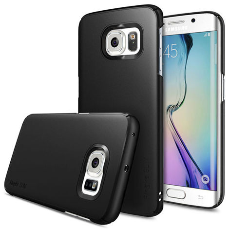 Etui Rearth Ringke Slim Samsung Galaxy S6 Edge SF Black