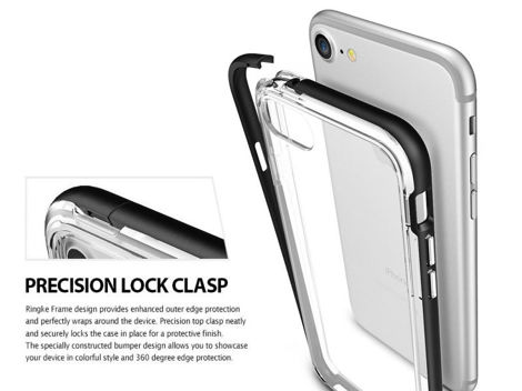 Etui Ringke Fusion Frame iPhone 7 SF Black