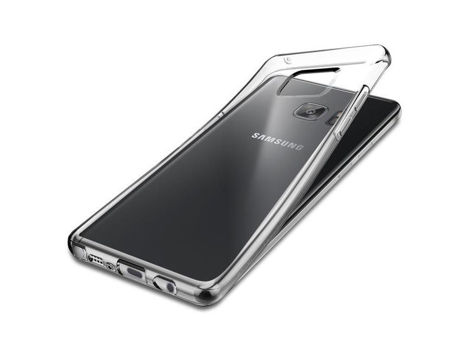 Etui Spigen Liquid Crystal Samsung Galaxy Note 7 Crystal Clear + Szkło
