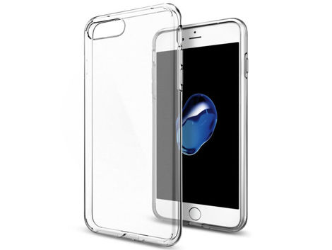Etui Spigen Liquid Crystal iPhone 7 Plus Crystal Clear + Szkło