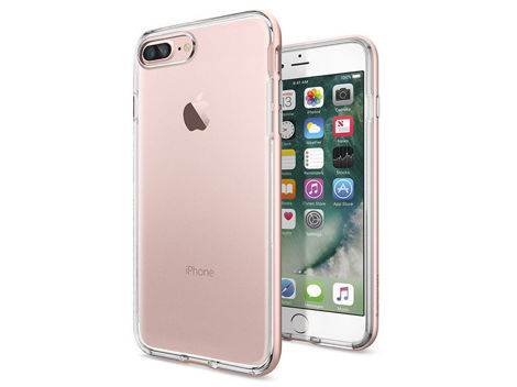 Etui Spigen Neo Hybrid Crystal iPhone 7 Plus Rose Gold