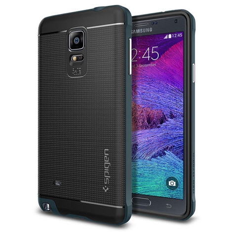 Etui Spigen SGP Neo Hybrid - Metal Slate do Samsung Galaxy Note 4
