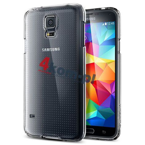 Etui Spigen SGP Ultra Fit do Samsung Galaxy S5 Crystal Shell