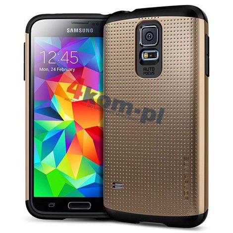 Etui Spigen Slim Armor Samsung Galaxy S5 Copper Gold