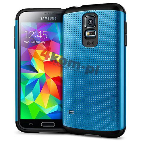Etui Spigen Slim Armor Samsung Galaxy S5 Electric Blue
