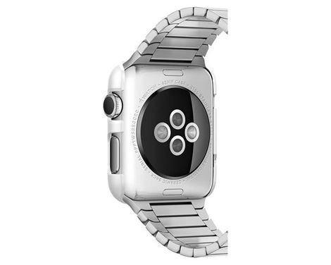 Etui Spigen Thin Fit Apple Watch 38 mm Smooth Black