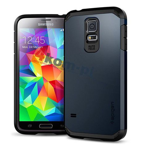 Etui Spigen Tough Armor Samsung Galaxy S5 Smooth Black