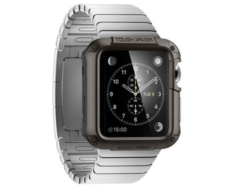 Etui Spigen Tough Armor do Apple Watch 42mm Gunmetal