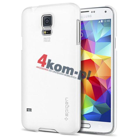 Etui Spigen Ultra Fit Samsung Galaxy S5 Smooth White