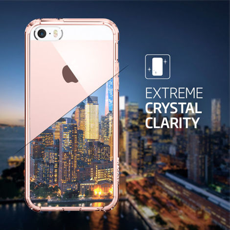 Etui Spigen Ultra Hybrid do iPhone 5/5s Crystal Clear