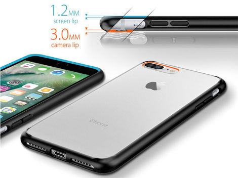Etui Spigen Ultra Hybrid iPhone 7 Plus Crystal Clear