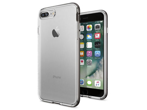 Etui Spigen Ultra Hybrid iPhone 7 Plus Crystal Gunmetal